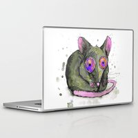 rat Laptop & iPad Skins featuring Rat by Bwiselizzy