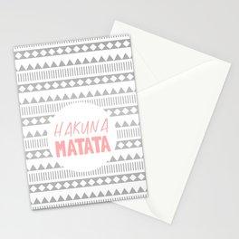 Hakuna Matata II Stationery Cards