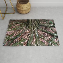 Tree Roots and Dead Leaves Rug