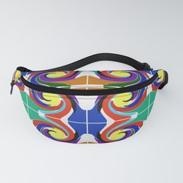 Dancing for the sun. Mosaic. Fanny Pack