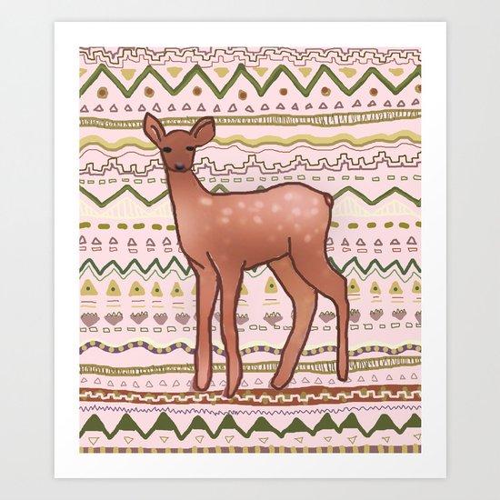 I Deer You to Dream Art Print