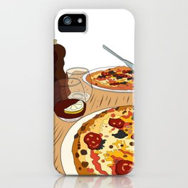Pizza Time! iPhone Case