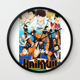 Haikyu Wall Clock