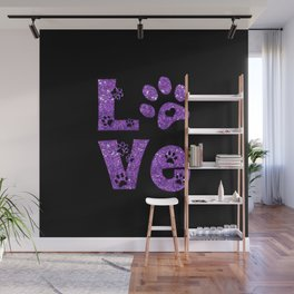 I love cats Wall Mural