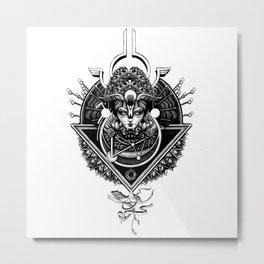 the Empress - Godess Metal Print