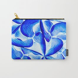 Turquoise in Bloom Carry-All Pouch