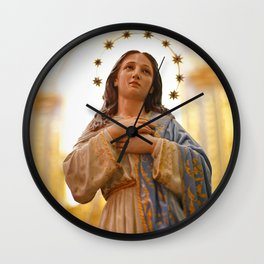 Our Lady of Conception Wall Clock