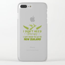 GO TO NEW ZEALAND Clear iPhone Case