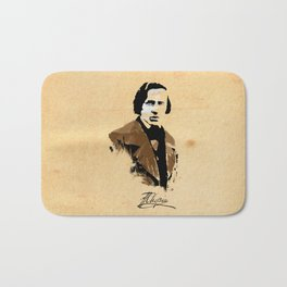 Frederic Chopin - Polish Composer, Pianist Bath Mat