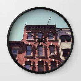 rooftops Wall Clock