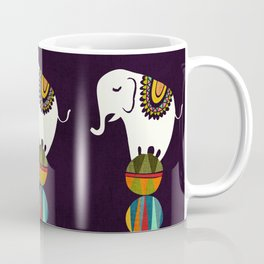 Elephant Circus Coffee Mug