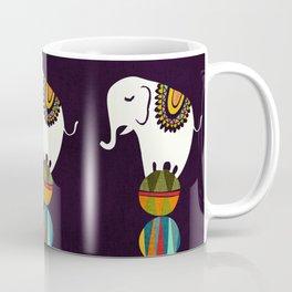 Elephant Circus Coffee Mug