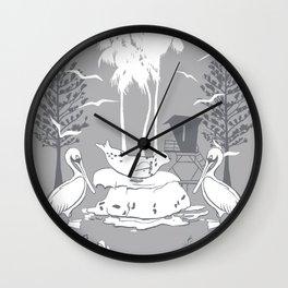 La Jolla Print Wall Clock