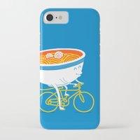 ramen iPhone & iPod Cases featuring GoGo Ramen by mogumogu