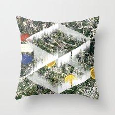 Stone Roses, I am the Resurrection - Soundwave Art Throw Pillow