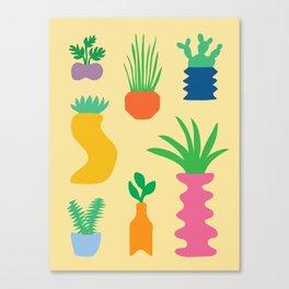 Plant Party Canvas Print