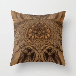 Sequential Baseline Pattern 21 Throw Pillow