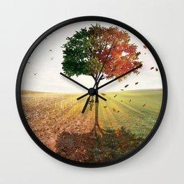 Two Seasons by GEN Z Wall Clock