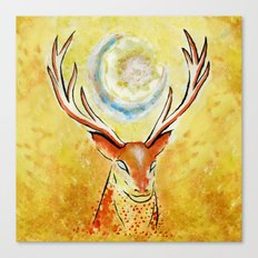 Spirit stag Canvas Print