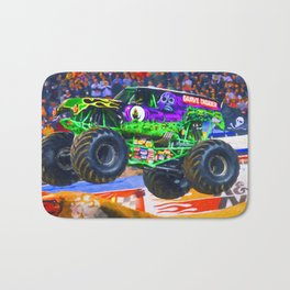 Monster Jam Grave Digger Bath Mat