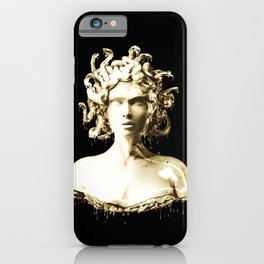 Gold Medusa iPhone Case