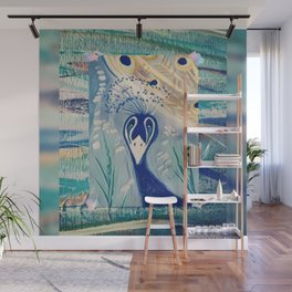 Peacock's Wall Mural