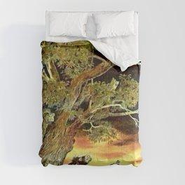 Le coq qui ne dort pas .... Comforters
