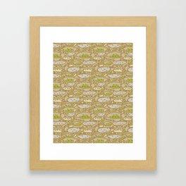 Genera Atta (Ant Farm) Framed Art Print