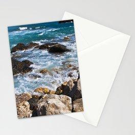 Meditative Power of the Sicilian Sea Stationery Cards