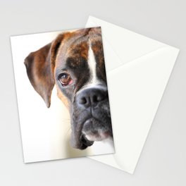 Boxer dog Stationery Cards