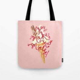 You Make Me Melt by Jessie Bayliss Tote Bag
