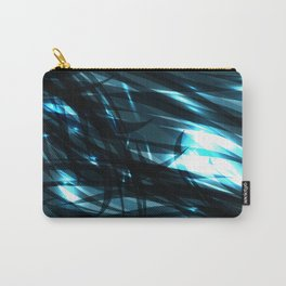 glowing cosmic azure background of cobalt metal lines. For registration of paper or banners. Carry-All Pouch