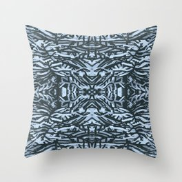 snowy branches Throw Pillow