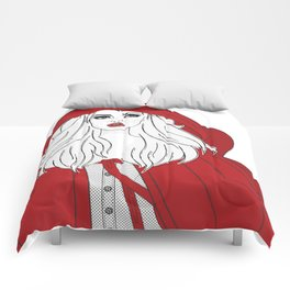 Red Riding Comforters