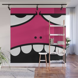 Monsters⁴ : Red Wall Mural