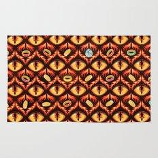 Smaug's Lair Pattern Rug