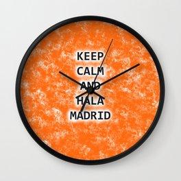 KC&HALAMADRID Wall Clock
