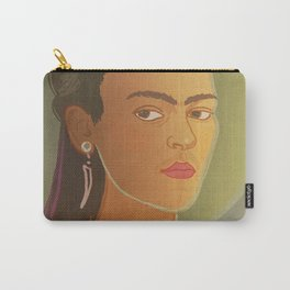 Dear Frida / Stay Wild Collection Carry-All Pouch