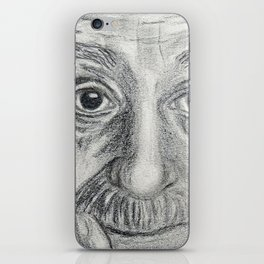 Albert Einstein iPhone Skin
