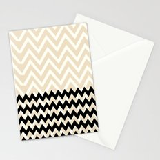 Double Chevron Stationery Cards