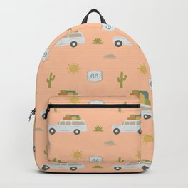 Road Trippin' in Peach Backpack