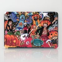 one piece iPad Cases featuring Halloween in One Piece by Borsalino