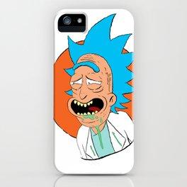The rickest Rick iPhone Case