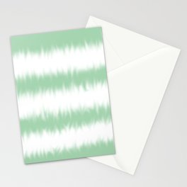 Mint Green Tie Dye Stationery Cards