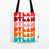 dylan Tote Bags featuring Dylan by Jeremy Lin