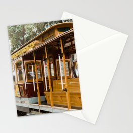 San Francisco Cable Car Stationery Cards