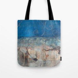 Chicxulub - aqua version Tote Bag