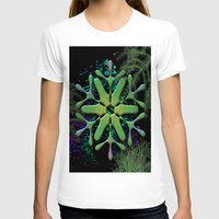 snowflake T-shirts featuring Snowflake by Ellen Turner