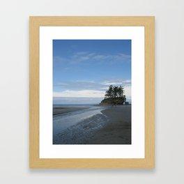 Salt Creek Framed Art Print