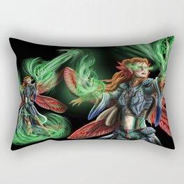 Dragonfly Mage Rectangular Pillow